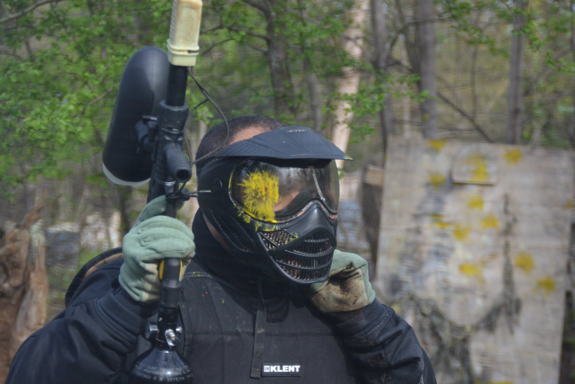 tiger paintball